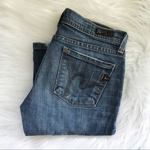Citizens Of Humanity Low Waist Flair Jeans  25